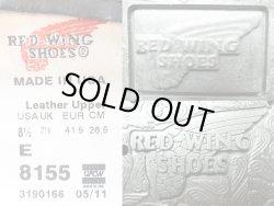 画像5: RED WING 8155 Black Pecos Boots レッド・ウイング 黒ペコス ブーツ アメリカ製