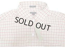 画像1: J.CREW 2-Ply Cotton Gingham B.D. Shirts 黄×赤×白 ボタン・ダウンシャツ