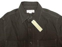 画像3: WALLACE & BARNES Cotton Twill Work Shirts ウォレス&バーンズ 黒ワーク
