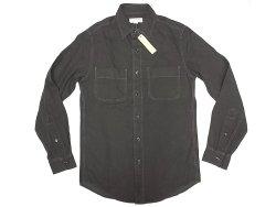 画像1: WALLACE & BARNES Cotton Twill Work Shirts ウォレス&バーンズ 黒ワーク