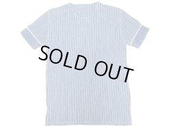 画像2: Double RL(RRL) Indigo Stripe Henley Neck Tee 藍染 ストライプ ヘンリー Tシャツ
