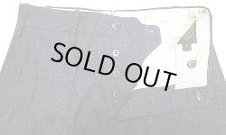 画像2: Double RL(RRL) R08 Buckle Back Denim Trousers Made in Italy イタリア製