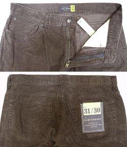 画像2: J.CREW SLIM STRIGHT Corduroy Pants コーデュロイパンツ DSL Wash加工
