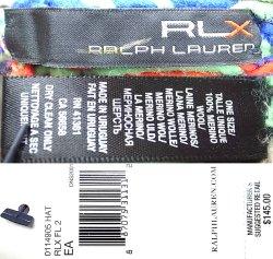 画像3: RLX by Ralph Lauren Jacquard Kint Cap アールエルエックス ニット・キャップ #3