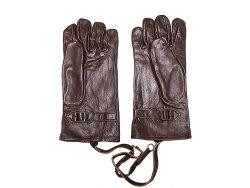画像2: Deadstock 1940'S SWISS ARMY Leather Gloves WWIIスイス軍 本革手袋 茶