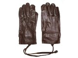 Deadstock 1940'S SWISS ARMY Leather Gloves WWIIスイス軍 本革手袋 茶