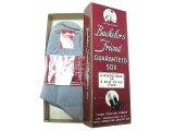 Deadstock 1940-50'S Bachelor's Friend Business Socks Dusk Gray USA製 箱入#2