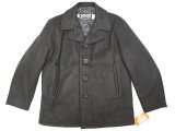 Deadstock 1980-90'S Schott Single Melton Peacoat ショット ピーコート 紺 USA製