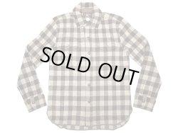 画像1: Double RL(RRL) Cashmere Wool Plaid CPO Shirts プラッドウール カシミア混ニット
