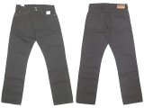 J.CREW 1040 Slim-Stright Black Jeans  KAIHARA DENIM  貝原デニム 脇割り