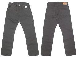 画像1: J.CREW 1040 Slim-Stright Black Jeans  KAIHARA DENIM  貝原デニム 脇割り