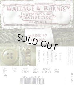 画像5: WALLACE & BARNES Military Easy Pants ウォレス&バーンズ ポプリン・パンツ