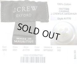 画像4: J.Crew White Oxford Pull-Over B.D.H/S Shirts オックスフォード 半袖ボタンダウン