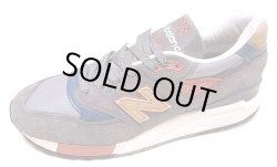 画像2: New Balance M998DBR Nylon Twill×Suede Leather ニューバランス アメリカ製
