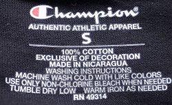 """画像4: Champion®College Tee チャンピオン・カレッジTシャツ """"University of Colorado""""黒"""