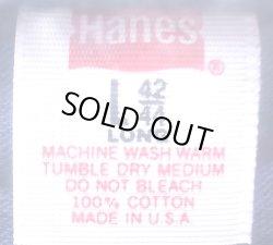 画像4: Deadstock 1981'S Hanes  POCKET-T ヘインズ ポケT 綿100% 紺 USA製 袋入