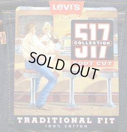 画像5: Deadstock 1995'S LEVI'S 517 BOOTCUT JEANS 生デニム  オレンジ・タブ USA製