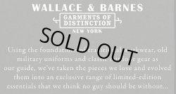 画像5: WALLACE & BARNES Slim Fit Trousers Black 100% COTTON Italian Fabric