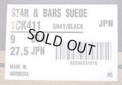 画像5: CONVERSE STAR & BARS (JACK STAR) SUEDE(本革) 灰×黒 ジャック・スター