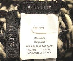 画像3: J.CREW Hand Knit Jacquard Wool Cap ジェイ・クルー ハンドニット ウールキャップ