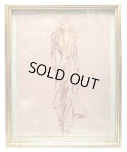 画像2: Ralph Lauren Illustration Framed  Display ラルフ・ローレン 店内 ディスプレイ #47
