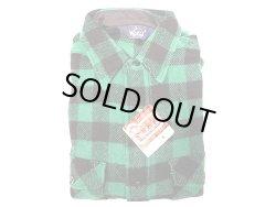画像1: Deadstock 1980'S(Late) Woolrich Buffalo Plaid (緑×黒) Shirts Made in USA