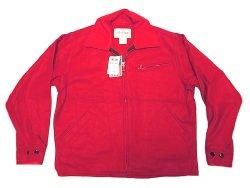 画像1: Deadstock 1990'S Melton Outer Wear メルトン Riders JK 赤ウール アメリカ製