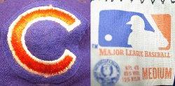 画像4: Deadstock 1973-75'S Chicago Cubs MLB Baseball Cap デッドストック USA製