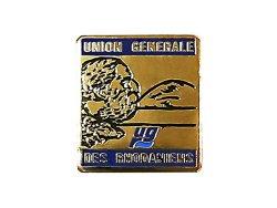 """画像1: Vintage Pins(ヴィンテージ・ピンズ) #0263 """"UNION GENERALE"""" Pins France"""