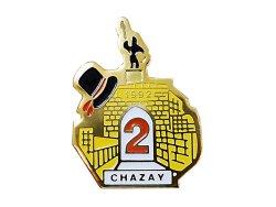 """画像1: Vintage Pins(ヴィンテージ・ピンズ) #0265 1990'S """"1992 CHAZAY"""" Pins  France"""
