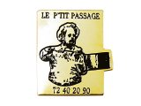 """Vintage Pins(ヴィンテージ・ピンズ) #0290  """"LE  P'TIT PASSEAGE""""  France"""
