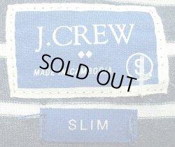 画像4: J.CREW SLIM Border Pocket-Tee ジェイ・クルー ボーダーポケTee 鉄紺×白