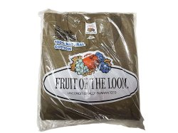 画像1: Deadstock 1983'S FRUIT OF THE LOOM 3P Tee 3枚パック 綿100% USA製 袋入