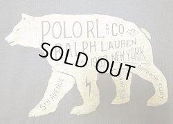 画像3: POLO RALPH LAUREN BEAR Tee ポロラルフ シロクマ Tシャツ 紺 Vintage加工