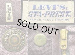 """画像5: Deadstock 1970'S Levi's """"E"""" STA-PREST HOT PANTS リーバイス スタプレ USA製"""