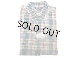 画像1: POLO Ralph Lauren BLAKE Madras H/S B.D.Shirts ラルフ マドラス半袖 BDシャツ