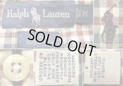 画像5: Ralph Lauren BLAKE Gingham H/S B.D.Shirts ラルフ ギンガム半袖 BDシャツ#3