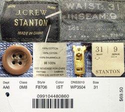 画像4: J.CREW STANTON Indigo Border Shortsジェイ・クルー インディゴボーダー短パン