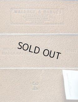 画像3: WALLACE & BARNES Leather Blet Made in Italy 本革レザーベルト イタリア製