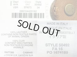 画像4: WALLACE & BARNES Leather Blet Made in Italy 本革レザーベルト イタリア製