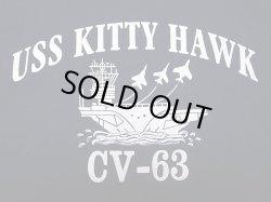 画像3: Deadstock 1980'S USS KITTY HAWK CV-63 Tシャツ Murina 綿 100% アメリカ製
