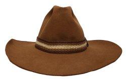 画像3: Deadstock 1980-90'S Resistol Hickory Bow Cowboy Hat レジストル アメリカ製