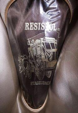 画像4: Deadstock 1980-90'S Resistol Hickory Bow Cowboy Hat レジストル アメリカ製