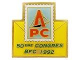 """Vintage Pins(ヴィンテージ・ピンズ) #0411 """"APC 50eme CONGRES BFC 1992"""""""