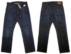 画像1: J.CREW 1040 Slim-Stright Jeans Cheshire-Wash 貝原デニム 脇割り ジェイ・クルー