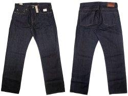 画像1: J.CREW 1040 Slim-Stright Jeans Resin Rinse 貝原デニム 脇割り ジェイ・クルー