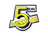 "Vintage Pins(ヴィンテージ・ピンズ) #0488 ""5 EME AVENUE"" Pins 1990'S France"
