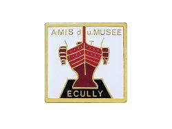 """画像1: Vintage Pins(ヴィンテージ・ピンズ) #0511 """"AMIS du MUSEE ECULLY""""  Pins"""