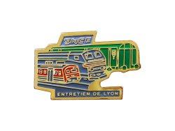 """画像1: Vintage Pins(ヴィンテージ・ピンズ) #0513 """"SNCF ENTRETIENDE LYON""""  Pins"""