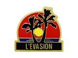 "Vintage Pins(ヴィンテージ・ピンズ) #0524 ""L'EVA SION""  Pins  France"